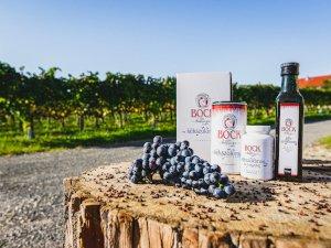 Természetes immunvédelem egész évben a Bock Kékszőlőmag termékcsaláddal